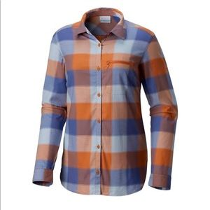 NWT Columbia Anytime Casual Stretch Shirt L
